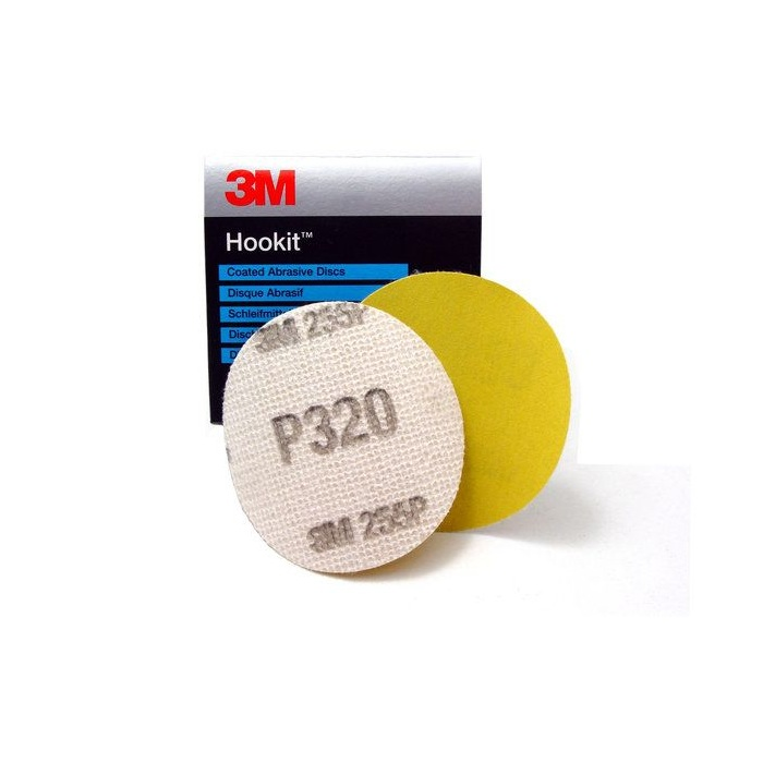 3M 50083 255P P320 HOOKIT DISC 76MM PLAIN
