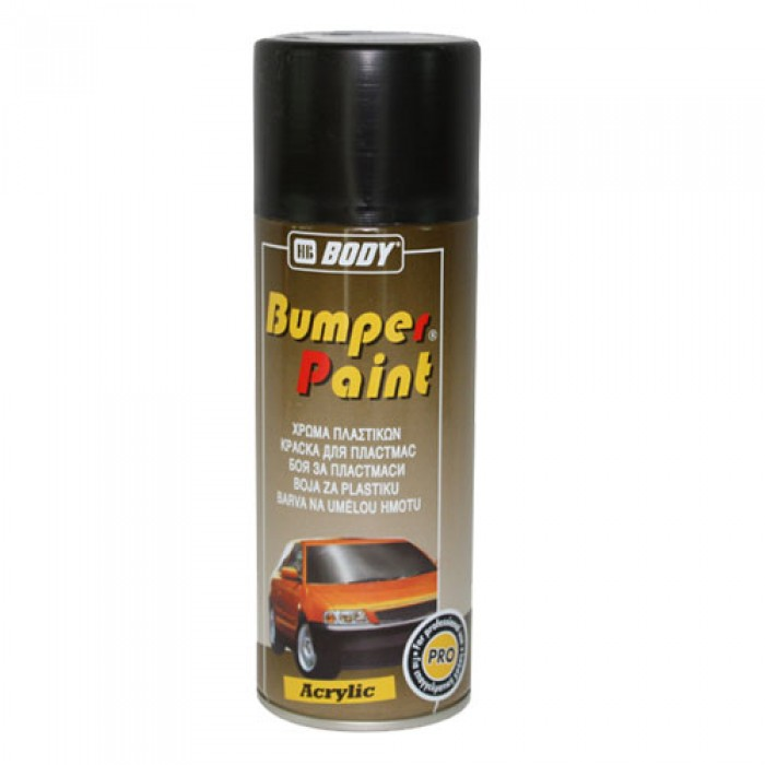 BODY SPRAY BUMPER TEXTURE BLACK 400ML