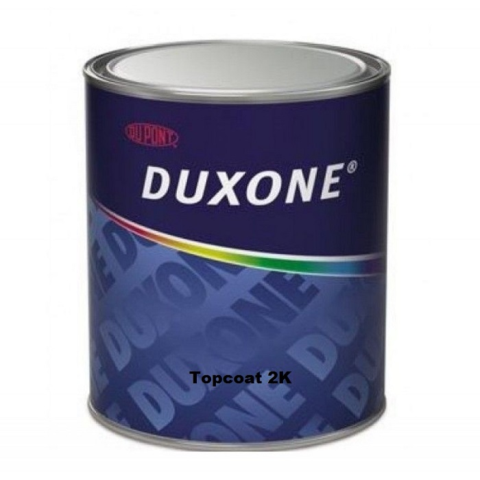 DUXONE 2K topcoat Dark Red